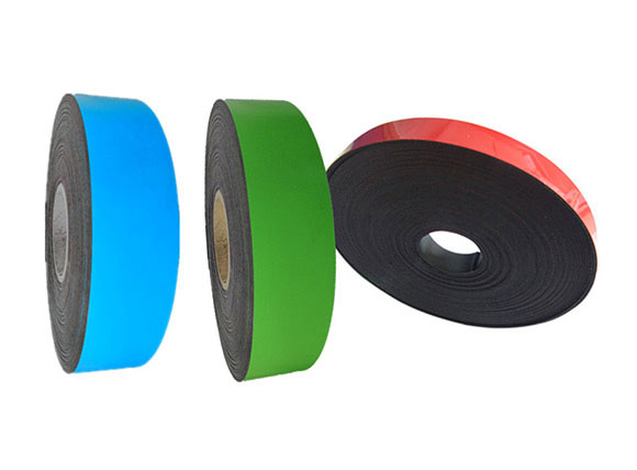 Extrusion magnet strips