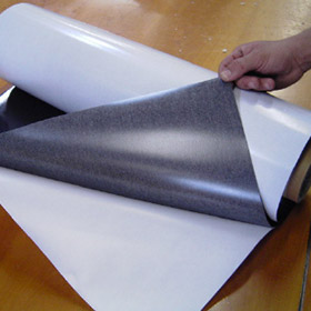 Flexible magnetic sheet - Adhesive backed magnet