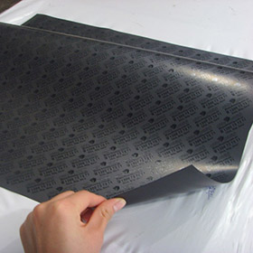 Flexible magnetic sheet - Back screen printing magnet