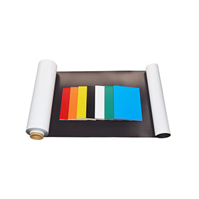Flexible magnetic sheet - PVC laminated magnet